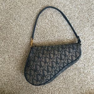 Vintage Dior Saddle Bag